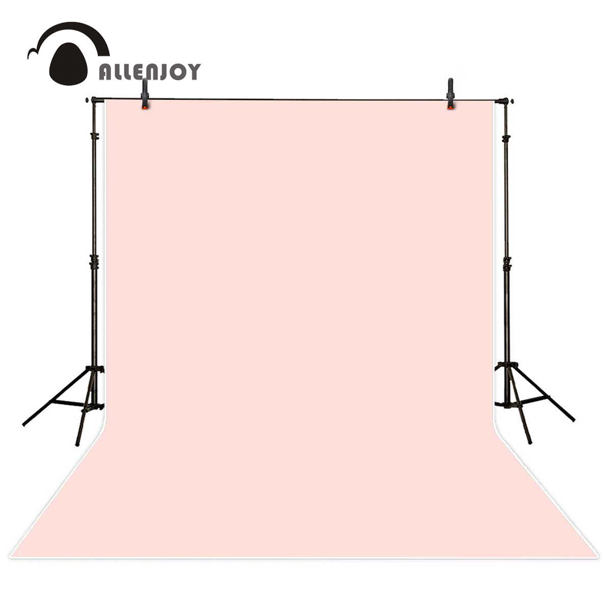 Allenjoy sfondo per la fotografia Solido di Colore Rosa Pastello di Colore Puro sfondo ritratto photo studio photobooth photophone sfondo