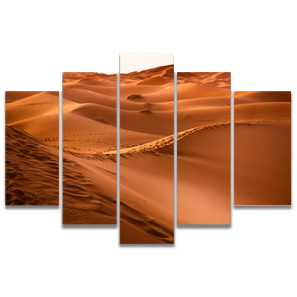 Unframed Canvas Painting Desert Dune Wind Pattern Photo Picture Prints Wall Picture For Living Room Wall Art Decoration