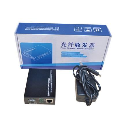 Wysokiej jakości konwerter mediów Fast Ethernet SFP 10/100 / 1000M - Sprzęt komunikacyjny - Zdjęcie 6