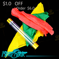 Silk Linked Tube Free Shipping King Magic Tricks Props Toys Email Video To You