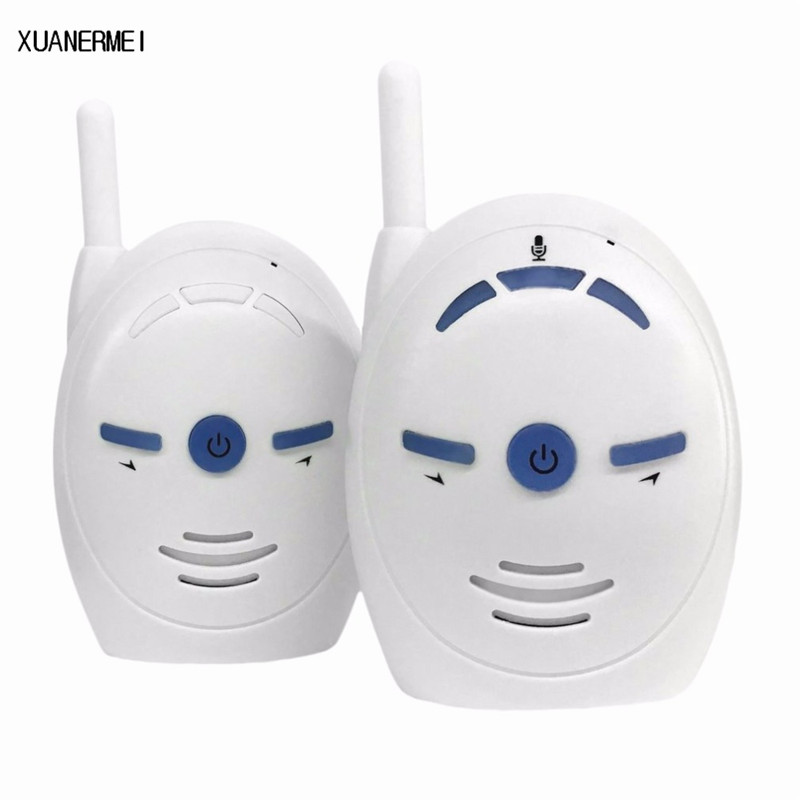 Xuanermei Nanny Baby Sitter Portable 2.4GHz Digital Audio Baby Monitor Sensitive Transmission Two Way Talk Crystal Clear Cry Voi
