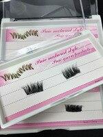5pairs Magnetic Eyelash Extentions Magnet False Fake Eyelashes Easy To Wear False Eyelashes Makeup Handmade Top