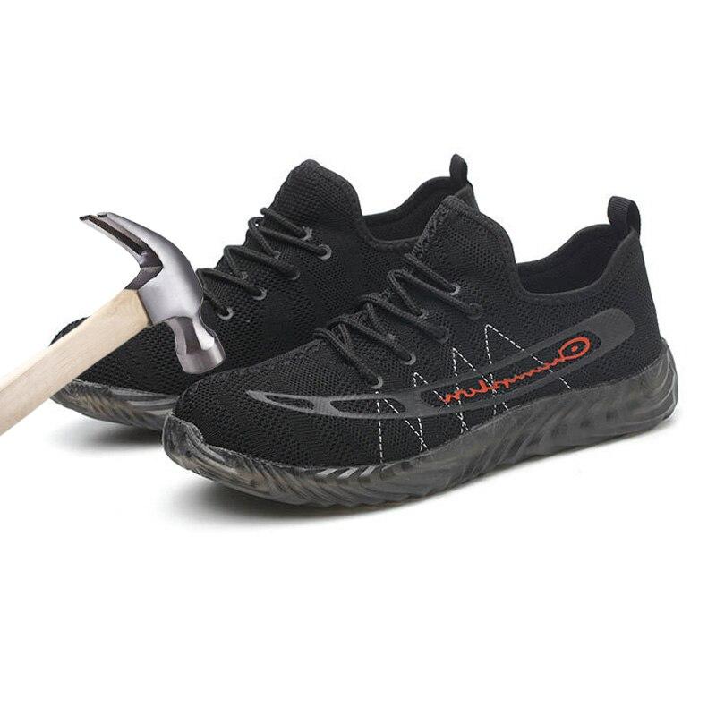 Bottes de travail en acier d'orteil de chaussures de sécurité des hommes pour les hommes
