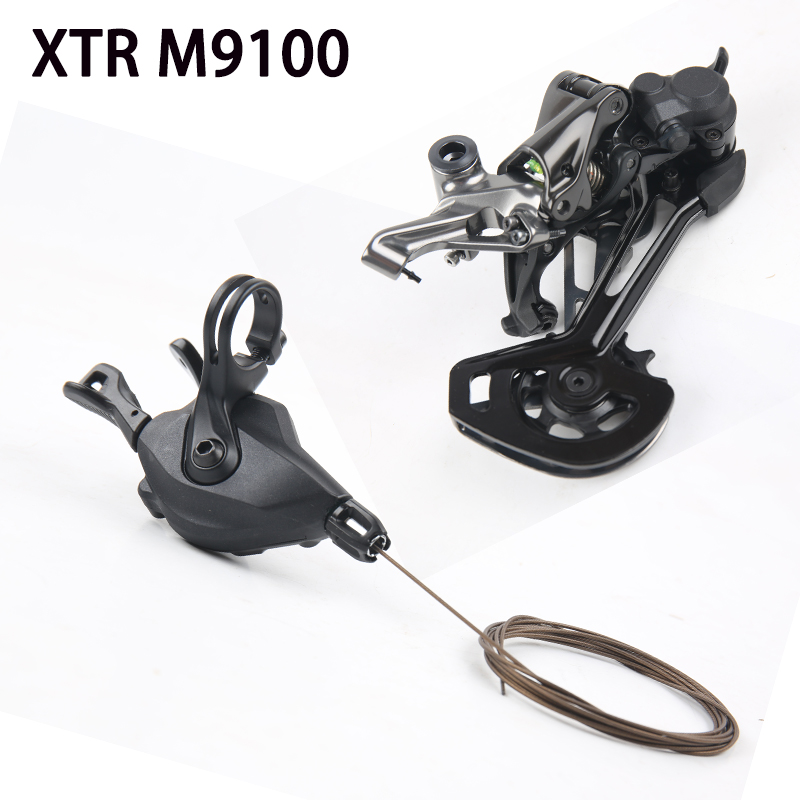 Shimano XTR M9100 Groupset Shifter Lever Rear Derailleur Long SGS 12 Speed 1x12 SL M9100 shifter