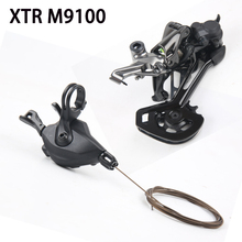 Shimano XTR M9100 Groupset Shifter Lever Rear Derailleur Long SGS 12 Speed 1x12 SL shifter&derailleur