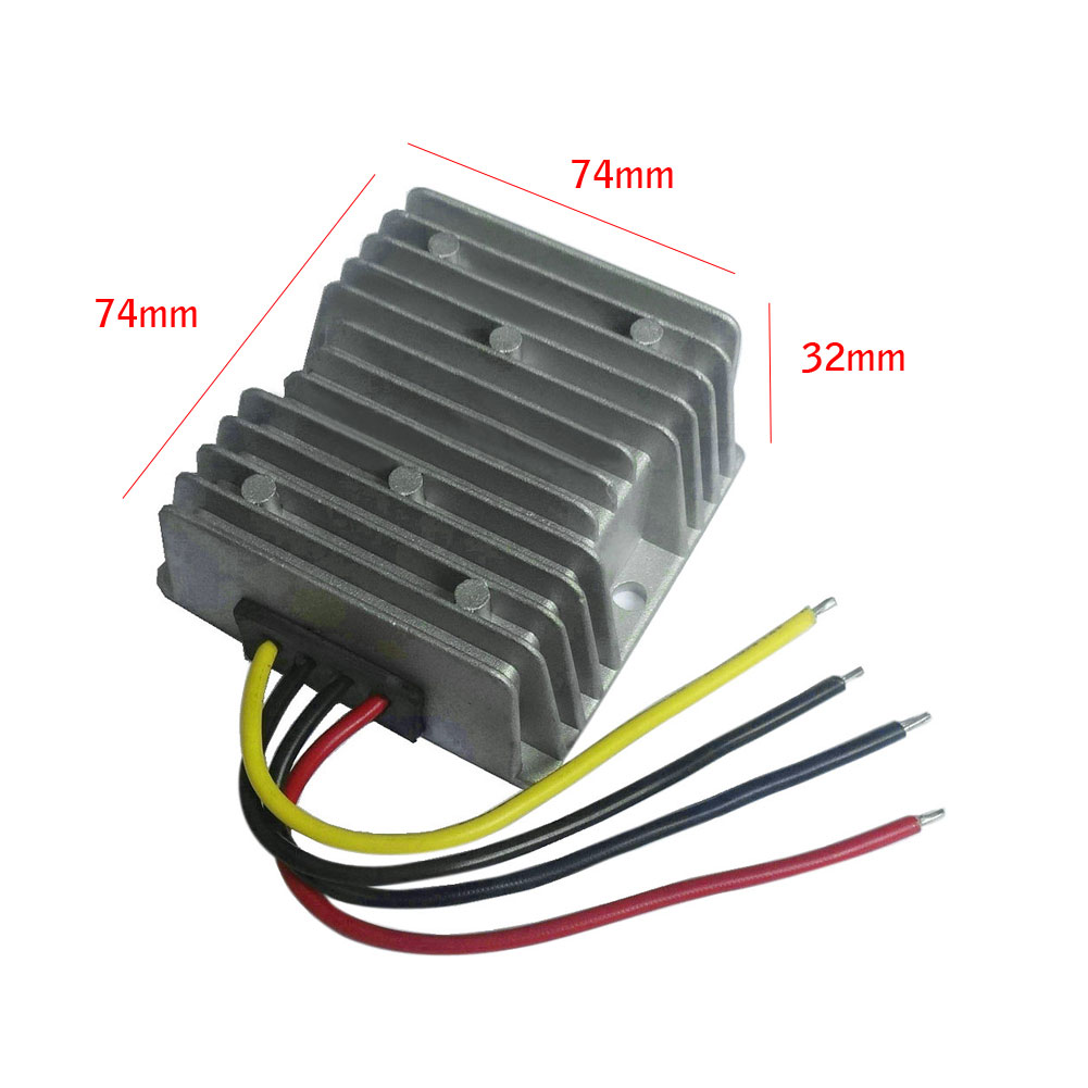 DC24V To DC24V 8A 192W Auto Step Up/Down Power Supply Converter Module Waterproof
