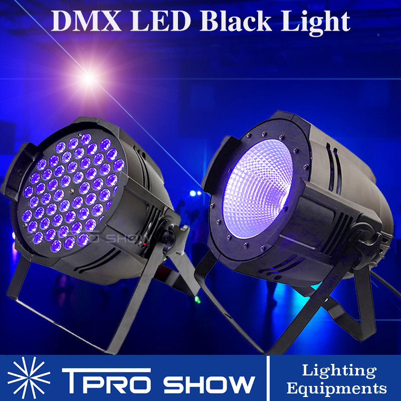 UV Disco Light DMX Black Light Party Spotlight UV LED Par Cannon DJ Light Strobe LED Wash For Big Stage Club Ballroom Stage