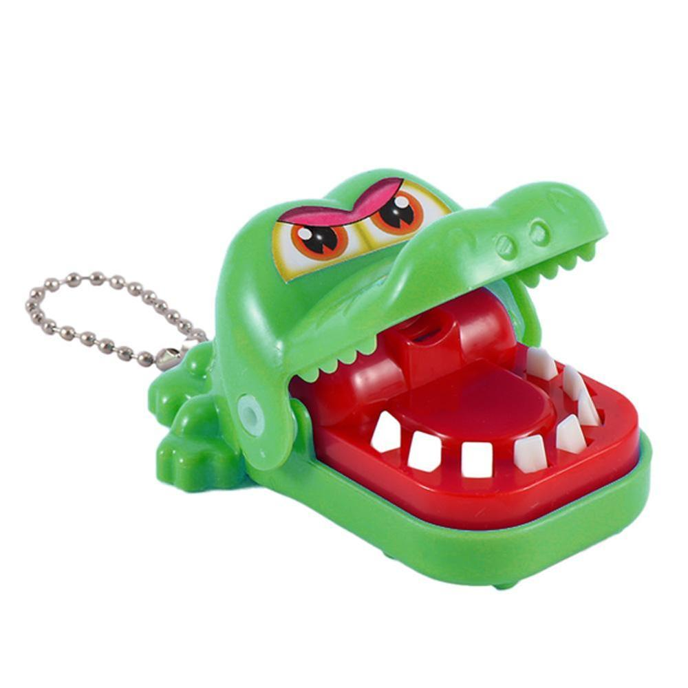 Mini Crocodile Mouth Dentist Bite Finger Game Funny Toy Funny Novelty Gag Toy For Kids Children Adult Fun Gifts