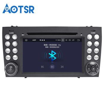 Android 9.0 32GB Car Multimedia radio For MERCEDES-BENZ SLK Class R171 SLK200/SLK230/SLK280 autoradio tape recorder radio gps image