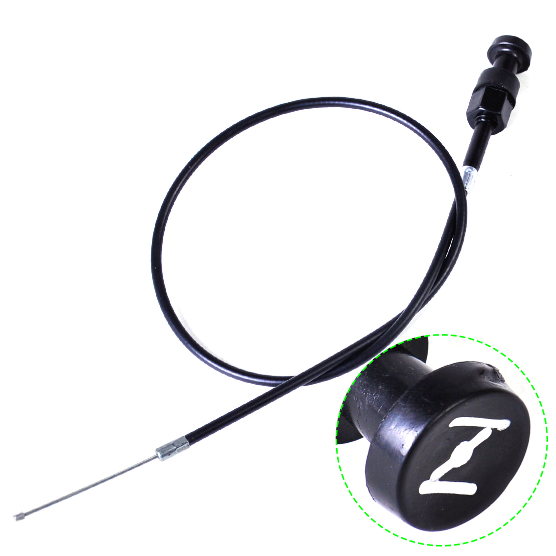 1Pc New Black 74cm 29'' Pull Choke Cable Throttle Assembly Fit for Yamaha PW50 Motorcycle Pit Dirt Bike High Quality free shipping brand new motorcycle throttle cable throttle wire for yamaha ttr250 guaranteed 100