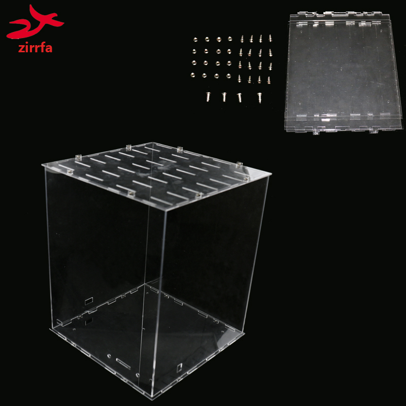 3D 8 LED Light Cubeeds RGB Acrylic  Case- Note:cubeeds Box Only With The Use Of Our 3d8 Colorful Cubeed,size Is 23x23x H29 Cm