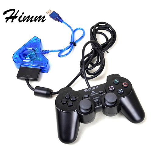 Well-Educated For Ps I Ii 1 2 Ps1 Ps2 Psx Playstation 2 Joypad Game Controller To Pc Usb Converter Adapter Blue Color