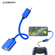 OTG Micro USB Cable Adapter For Xiaomi Redmi Note 5 Android Connector Samsung S6 Tablet Microusb 2.0 Adaptador