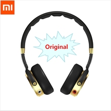 100% Original Headband Xiaomi Mi HiFi Headphone 50mm Beryllium diaphragm stereo Earphone With Microphone Gold+Black New Luxury