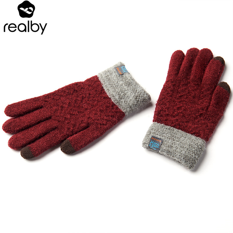 REALBY Winter Gloves Mens