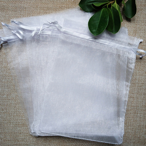 Image 5 - 1000pcs/lot 24 Colors Jewelry Bag 7x9 9X12 10x15 13x18cm Wedding Gift Organza Bags Jewelry Packaging & Display  Jewelry Pouches