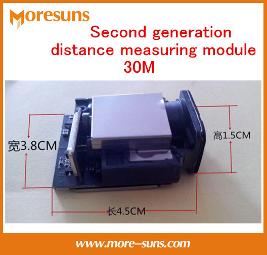 Free Ship Second Generation laser Distance Measuring font b Sensor b font 30M 1mm Max frequency