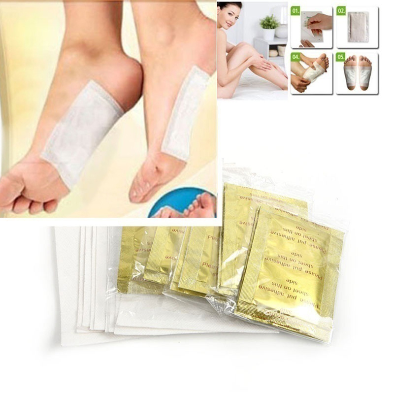 10Pcs Effective Foot Patch Detox Natural Plant Herbal Toxin Removal Cleansing Chinese Medicine Health Care Foot Care Foot Patch