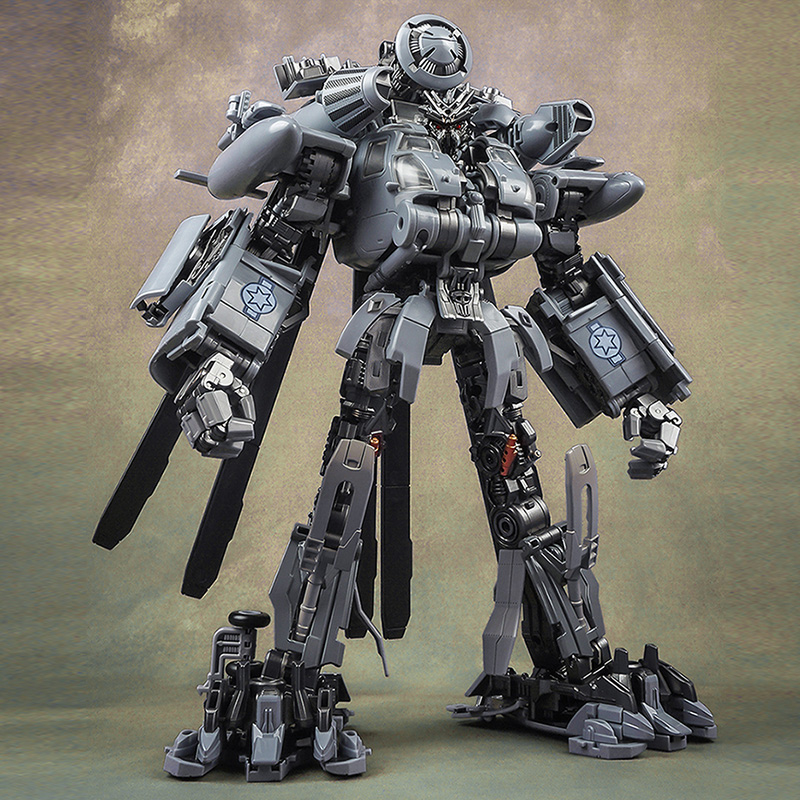 WJ Transformation Oversized KO SS08 M05 Hide Shadow BLACKOUT Alloy Action Figure Toy Vertigo Helicopter Robot Model Toys