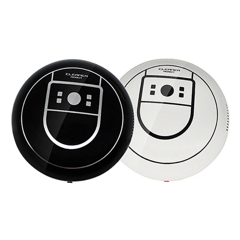 Mini À Puce Balayage Robot Électrique Sans Fil Automatique Multi-directionnelle Aspiration Machine Ménage Aspirateur Balayage