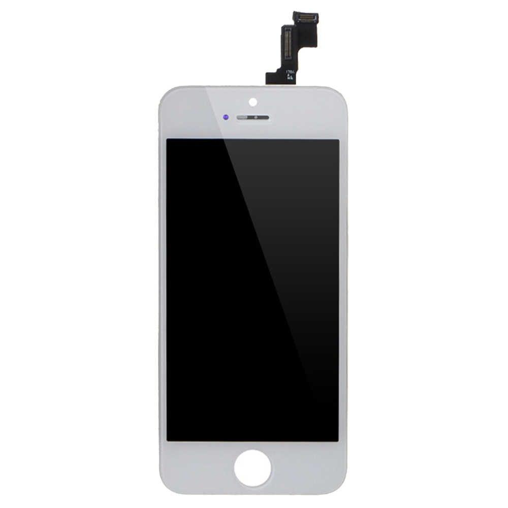 LL التاجر 100% اختبار 5 جرام 5s 7 8 شاشات لمس للهاتف المحمول استبدال آيفون 5s 5 7 8 شاشة الكريستال السائل لا الميت محول الأرقام الجمعية