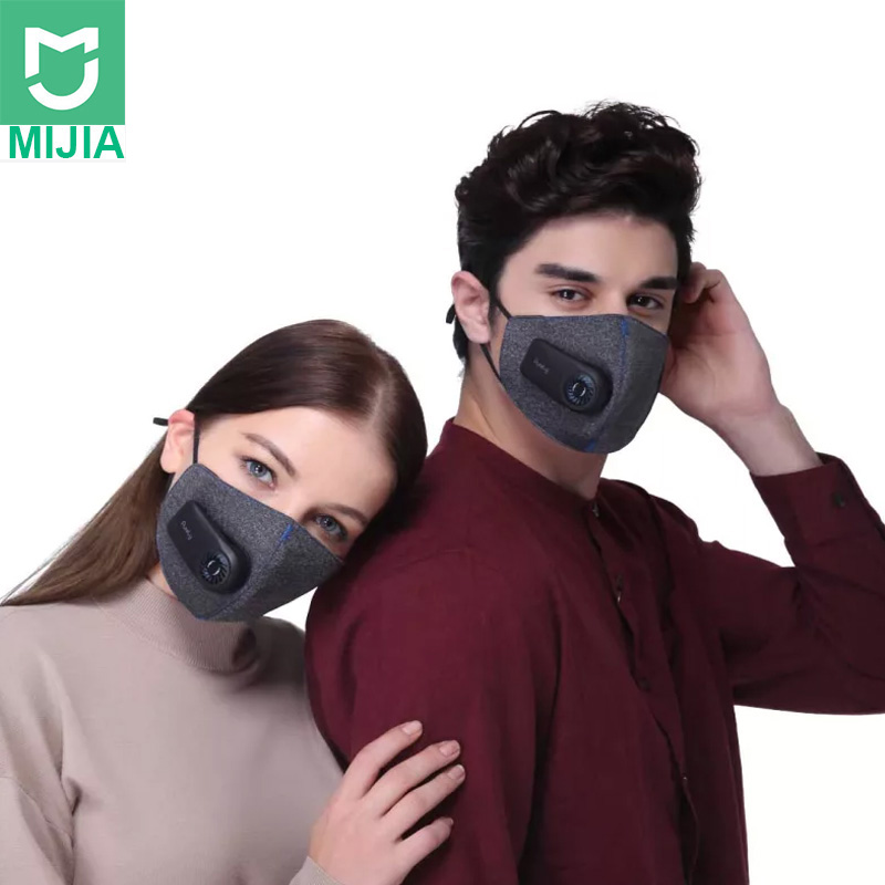 Xiaomi Pure Air Mask Anti-pollution PM2.5 Pure Mask Can Be Charged To Filter 3d Structure, With Excellent Purification Effect