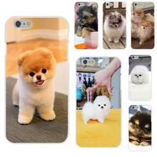 Pomeranian Puppy Dog 5 Luxury Cell Phone Case For Huawei Nova 2 V20 Y3II Y5 Y5II Y6 Y6II Y7 Y9 G8 G9 GR3 GR5 GX8 Prime 2018 2019(China)