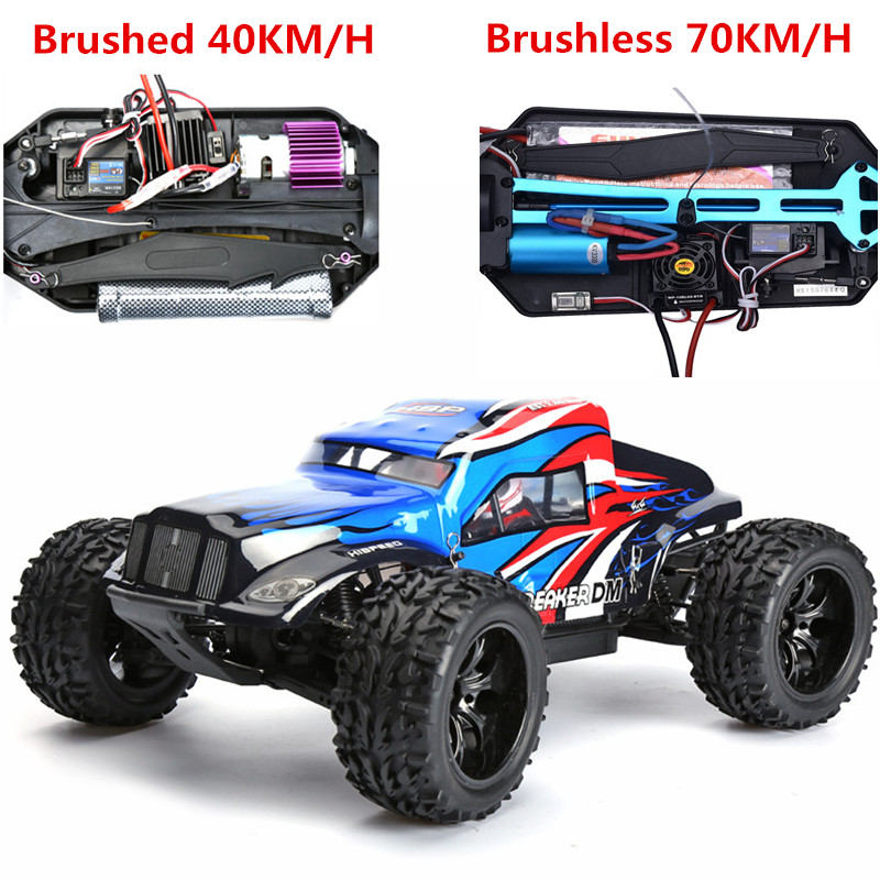 HSP Rc Car 1/10 Scale 4wd Off Road Monster Truck 94204PRO 2.4ghz Brushless Motor Sand Truck High Speed Remote Control Car 03007 motor mount rc hsp 1 10th on road drift off road car buggy monster truck rc car parts child toys