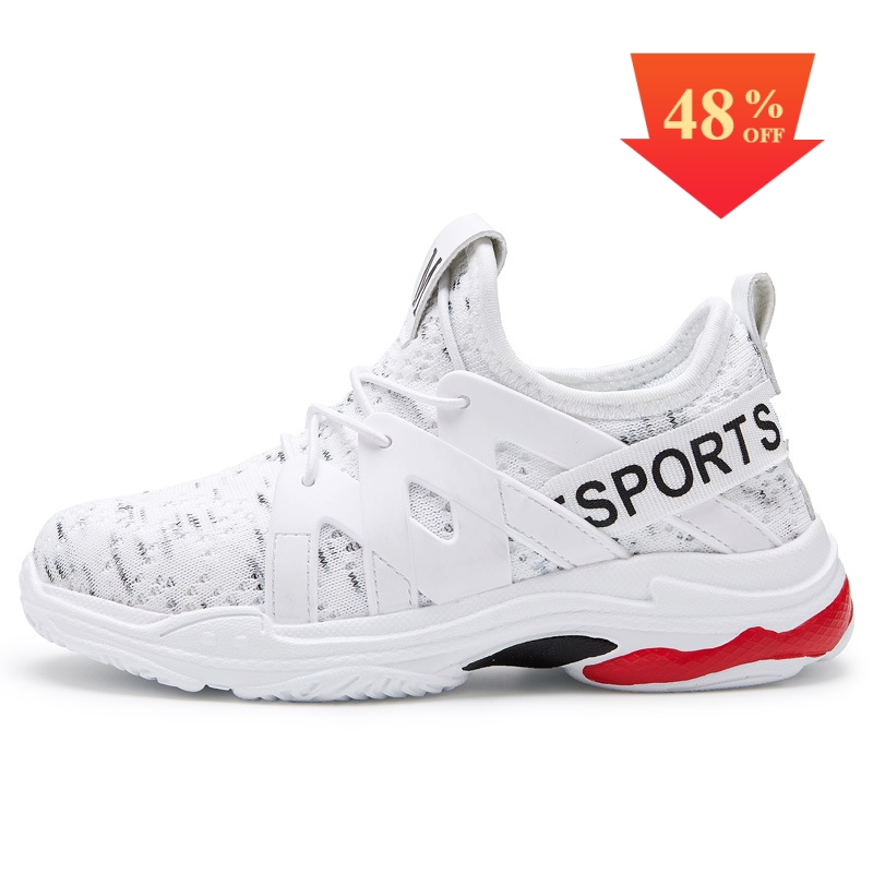 Spring Kids Sneakers Children Shoes Breathable Boys Casual Shoes Girls Trainer White Sport Shoes For Girl Fashion Running Shoes