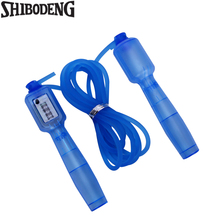 Jump Ropes With Counter Sports Fitness Crossfit Adjustable Fast Speed Counting Skip Rope Skipping Wire Calories 5016