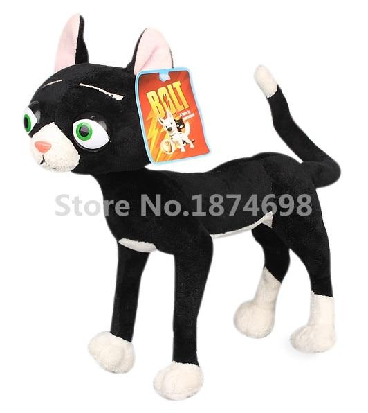 New Bolt Plush Mittens Black Cat Cute Stuffed Animals