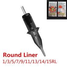 BIGWASP Premium Gray  Evolved Cartridges Tattoo Needle   Round Liners 1/3/5/7/9/11/13/14/15RL