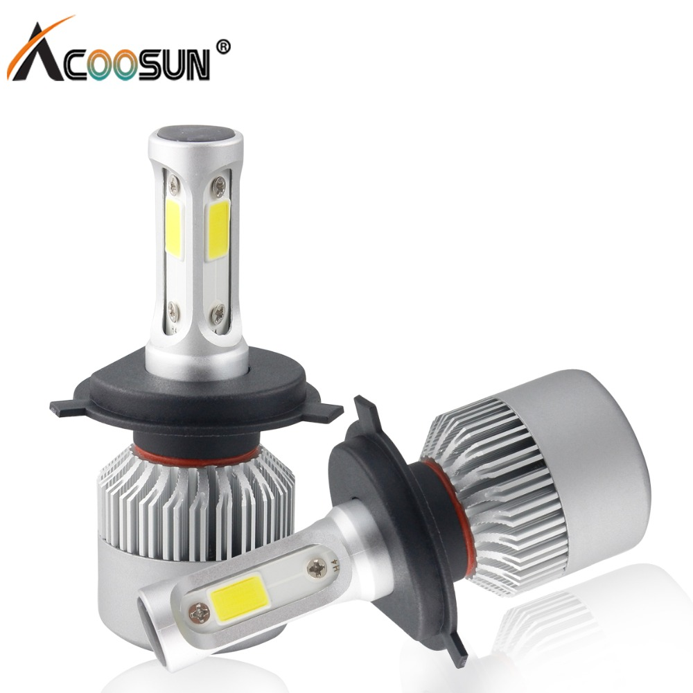 Automobiles & Motorcycles H1 H7 H8 H9 H11 9005 9006 9012 For Auto 12v Led Lamp 36w 8000lm Adapt To All Models Clients First