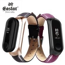 Leather Strap for Xiaomi Mi Band 3 Sport Strap watch wrist strap For xiaomi mi band 3 accessories bracelet Miband 3 Strap