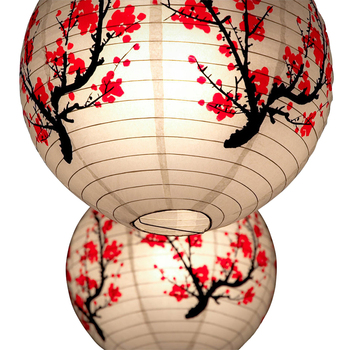 New Year Mid Autumn Festival Small Round Decoration Japanese Lantern Decorations Paper Lanterns Wedding Lantern Spring Festival 4