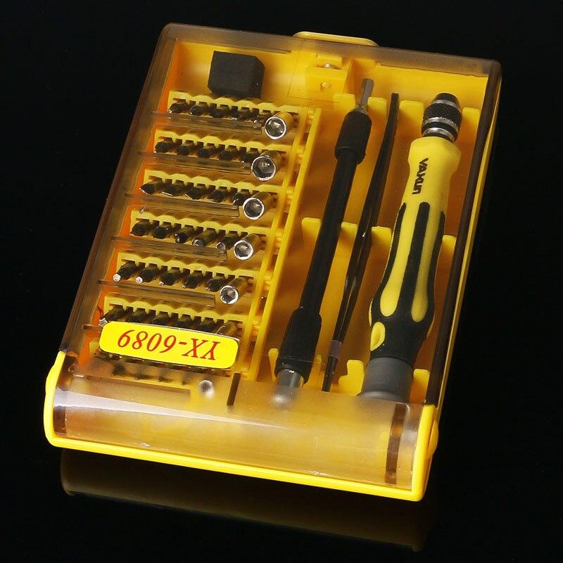 45 in 1precision multipurpose screwdriver set repair opening tool kit fix for. Black Bedroom Furniture Sets. Home Design Ideas