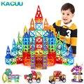 KACUU 135PCS Big Size Magnetic Constructor Set Boys Girls Building Magnets Toy Magnetic Blocks Educational Designer For Children