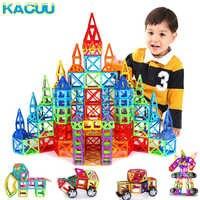 Regular/grande tamanho magnético designer construção brinquedos conjunto ímã brinquedos educativos para crianças meninos meninas presente
