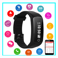 HB06 Smart Watch Men Women Heart Rate Monitor Blood Pressure Monitor NFC smart payment bracelet access control For IOS Androin