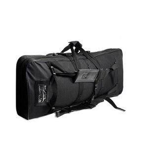 Image 2 - Tático ombro mochila resistente náilon rifle arma coldre bolsa 118cm saco de desporto ao ar livre caça arma saco
