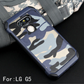 Army Camo Camouflage Pattern Case For LG G5 Armor Shockproof Hard PC + Soft Silicon Cover for LG G5 SE H868 H830  F700S Shell