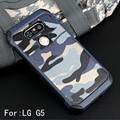 Padrão de Camuflagem do exército do Camo Case For LG G5 Armadura À Prova de Choque Duro PC + Capa de Silicone macio para LG G5 SE H868 H830 F700S Shell