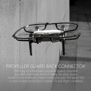 Image 5 - DJI Spark Cover Propeller Guard & Landing Gear Protection For DJI SPARK Drone Accessories Guard Bumper Blade