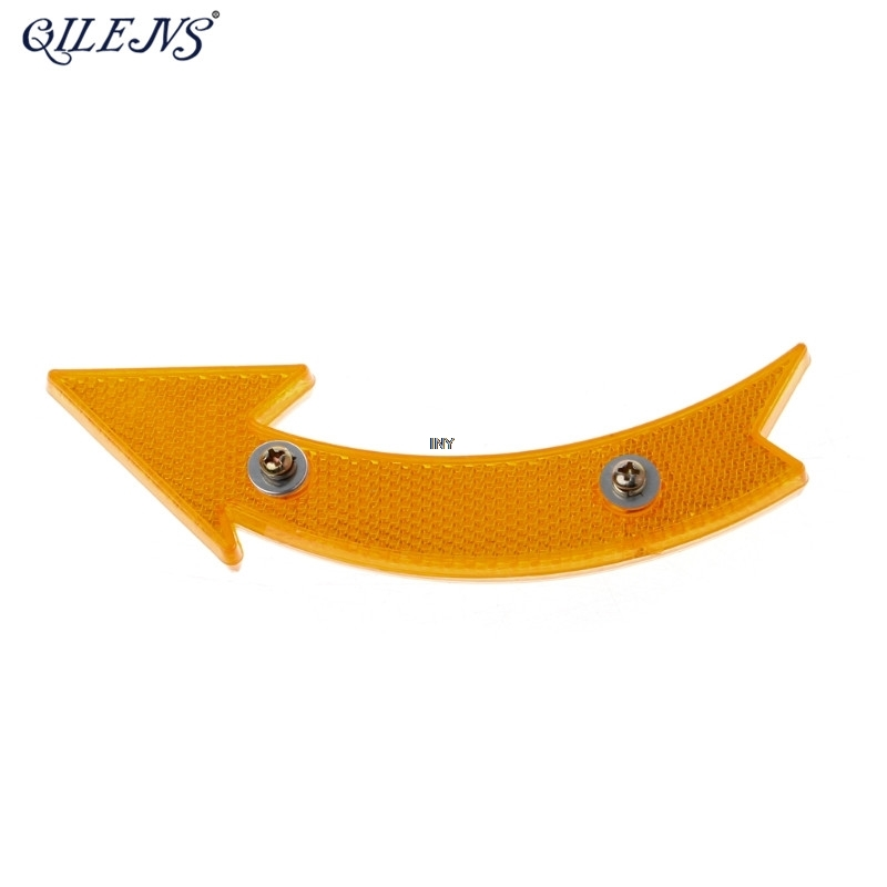 QILEJVS MTB Road Bike Bicycle Reflector Cycling Arrow Shape Safe Warning Accessories New INY in Bicycle Light from Sports Entertainment