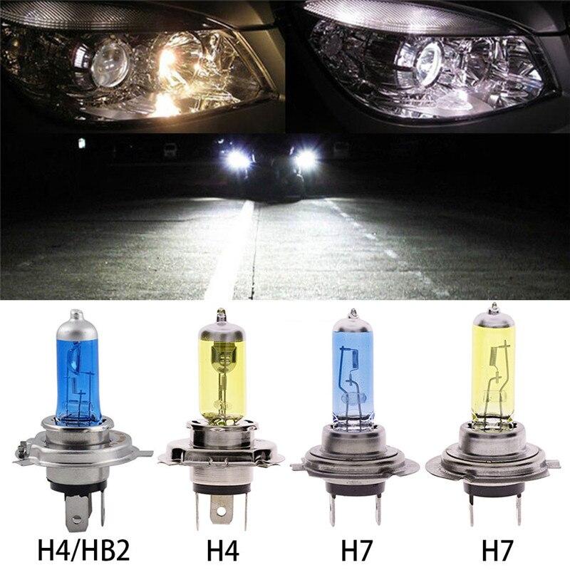 2 шт., Автомобильные светодиодные лампы H4/HB2 9003, 100 лм, 6000 Вт, 263772 к|Передние LED-фары для авто| | АлиЭкспресс