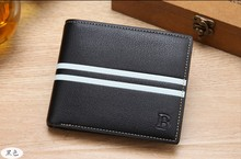 Free Shipping Men's wallet multi-card short paragraph retro velvet factory outlet trend of quality business and leisure wallet