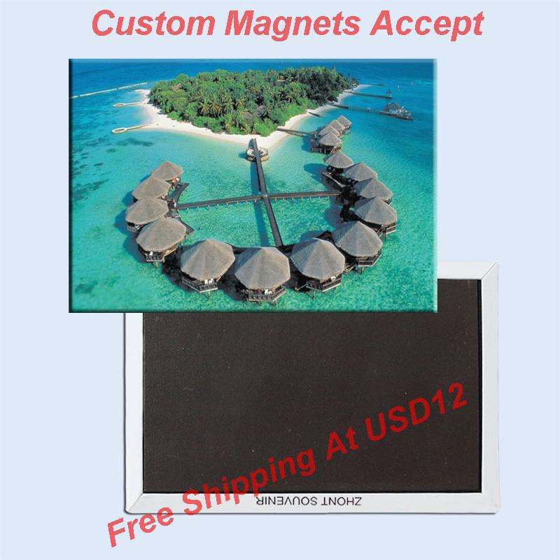 Travel Souvenir Flexible Fridge Magnet MALDIVES