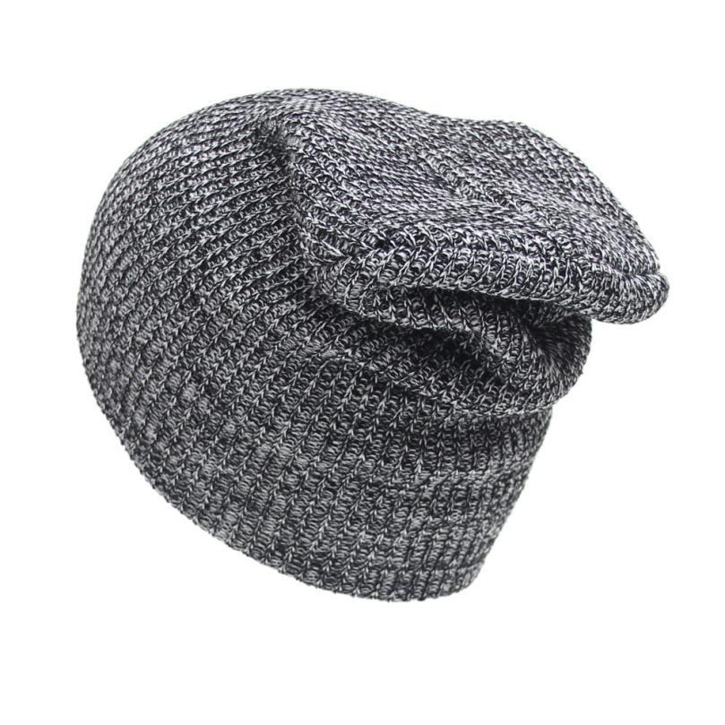 Hot 2017 New Fashion Unisex Caps Men Women Soft Winter Warm Knit Crochet Ski Hat Braided Turban Headdress Cap Y8093 hot winter beanie knit crochet ski hat plicate baggy oversized slouch unisex cap