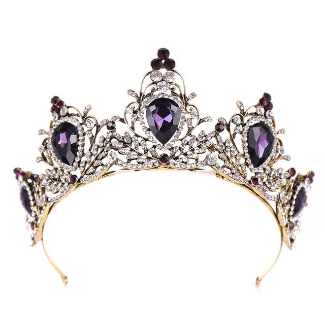 Vintage Purple Crystal...