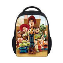 52a0501feee Backpack Kid Cartoon Woody Toy Story Printing Kindergarten Boys Girls  School Bags Cute Book Bag Small